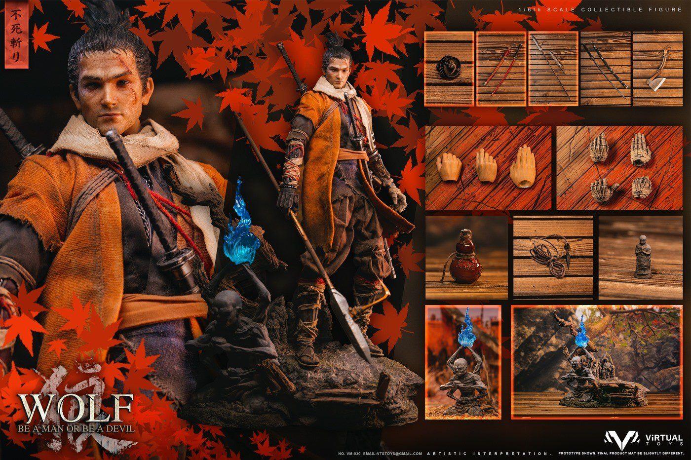 SEKIRO - THE WOLF OF ASHINA DX