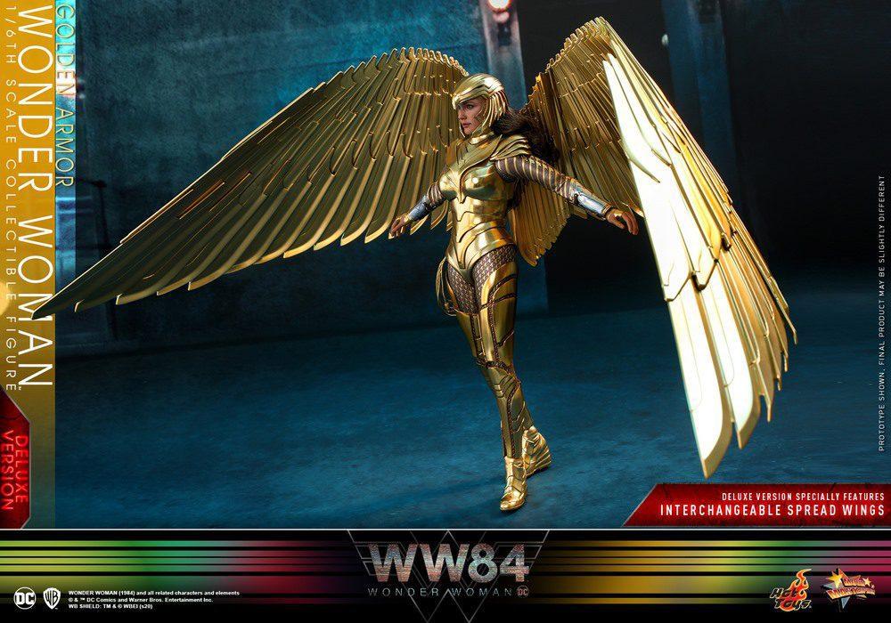 WONDER WOMAN GOLDEN ARMOR DX