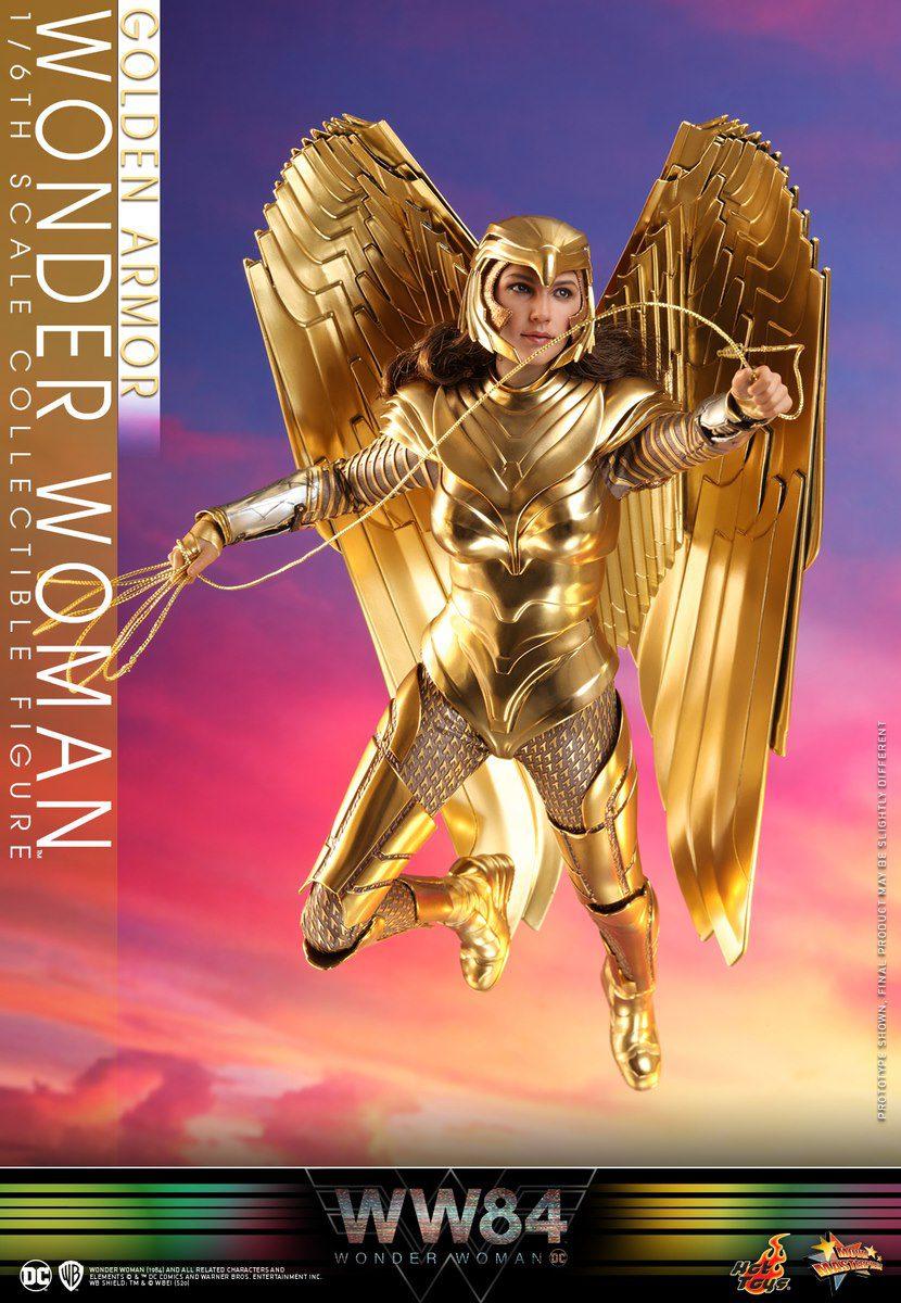 WONDER WOMAN GOLDEN ARMOR REG.