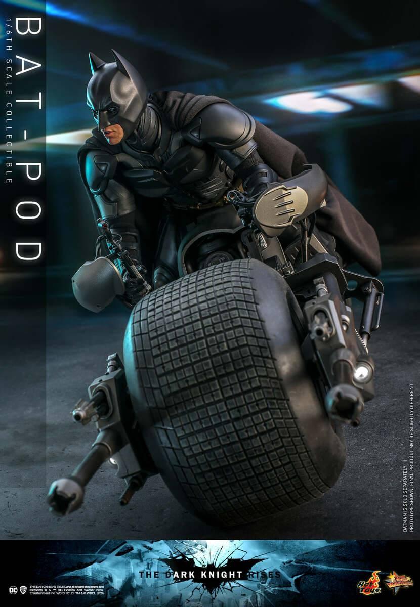 BATMAN: THE DARK KNIGHT RISES - BAT-POD