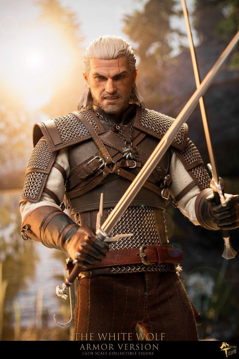 THE WITCHER - GERALT OF RIVIA (ARMOR VERSION)