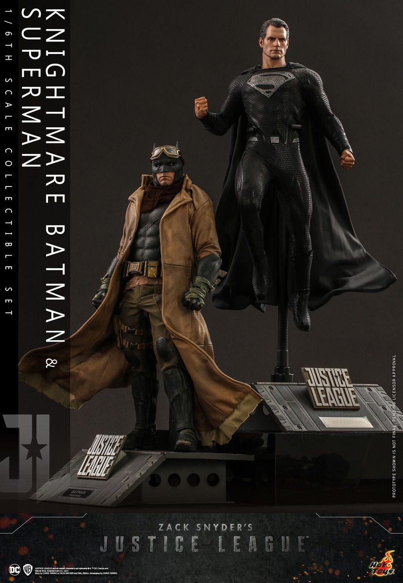 ZACK SNYDER'S JL - KNIGHTMARE BATMAN & SUPERMAN (PACK)