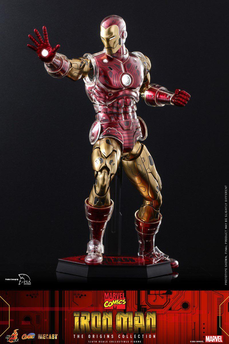 MARVEL COMICS - IRON MAN (THE ORIGINS COLLECTION) REG
